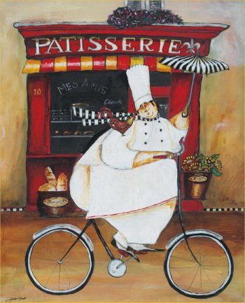fat chef wall plaque paddle bistro home decor sign kitchen
