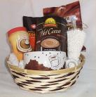 Coffee Hot Chocolate Gift Basket Marshmallow Candy Cream Any Occassion Gifts