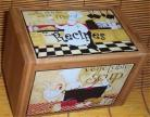 Fat Chef Recipe Box Bamboo Bistro Veg Soup Kitchen New